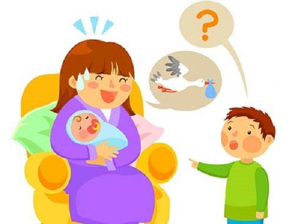 How is a baby born?